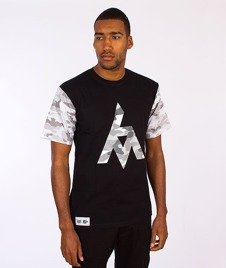Ganja Mafia-Future T-Shirt Czarny/Camo