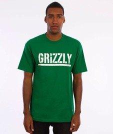 Grizzly-OG Stamp Logo T-Shirt Kelly Green