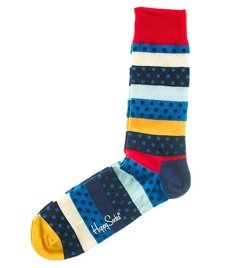Happy Socks-Dotted Stripe Skarpety [DSR01-6000]