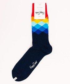 Happy Socks-Faded Diamonds [FAD01-6000]