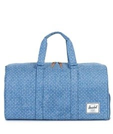 Herschel-Novel Duffle Limoges Crosshat/White Polka [10026-00912]