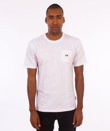 IAM. CLOTHES-Pocket T-shirt Biały