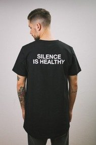 Intruz-Silence T-Shirt Czarny