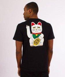 Iriedaily-Bye Bye Cat T-shirt Black