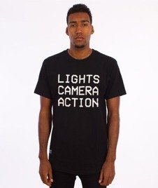 K1X-Lights Camera Action T-Shirt Czarny