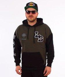 Lucky Dice-Emblems Hoodie Bluza Kaptur Khaki/Czarna