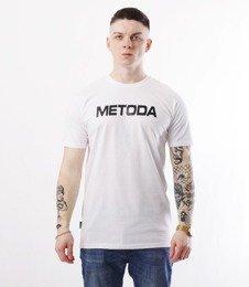 METODA -Name T-Shirt Biały