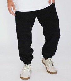 METODA -Spodnie Jogger Skórka Czarne
