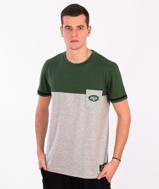 Majestic-New York Jets T-shirt Green/Grey