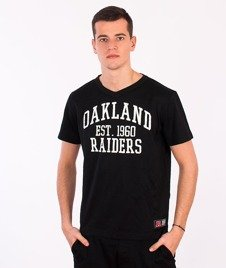 Majestic-Oakland Raiders T-shirt Black