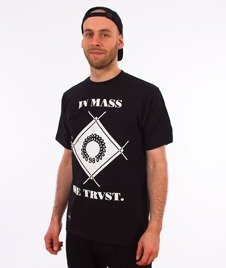 Mass-Boss T-shirt Czarny