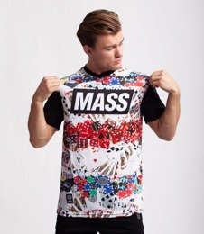 Mass GAMBLE T-Shirt Czarny