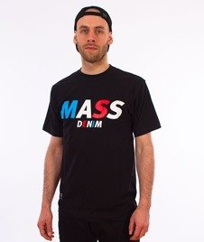 Mass-Grand T-shirt Czarny