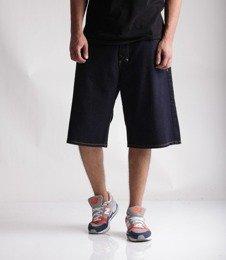 Mass Jeans Slang Baggy Fit Spodnie Krótkie Rinse