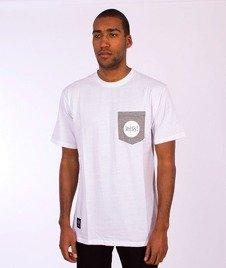 Mass-Pocket Signature T-shirt Biały