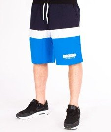 Mass-Respect Spodnie Dresowe Krótkie Blue/Navy