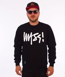 Mass-Signature Crewneck Bluza Black