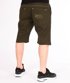 Mass-Signature Shorts Straight Fit Khaki