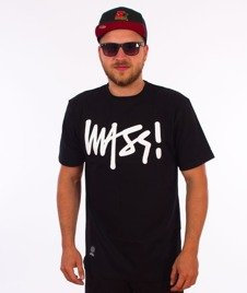 Mass-Signature T-shirt Czarny