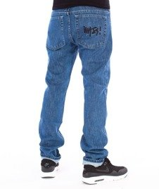 Mass-Signature Tapered Fit Jeans Blue