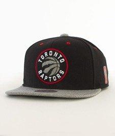 Mitchell & Ness-Greytist Toronto Raptors Snapback EU938 Czarny/Szary