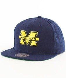 Mitchell & Ness-Michigan Wolverines Wool Solid SB INTL225