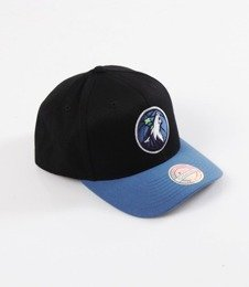 Mitchell & Ness- Wool Solid Snapback - NBA - Minnesota Timberwolves