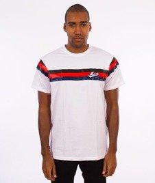 Moro Sport-Baseball Line T-Shirt Biały