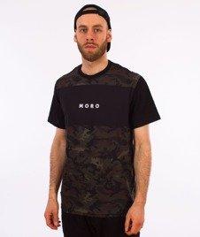 Moro Sport-Camo T-Shirt Zielone Camo