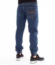Moro Sport-Leather Baseball Jogger Spodnie Marmurkowe Pranie