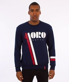 Moro Sport-Vintage Moro Bluza Granatowa