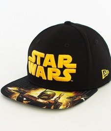 New Era-Star Wars Scene Boba Snapback Czarny