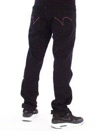 Patriotic-C1 Spodnie Jeansowe Czarny