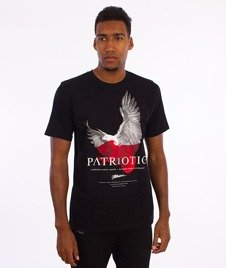 Patriotic-Eagle T-shirt Czarny