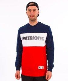 Patriotic-F Shade Shoulder BKL Bluza Czerwony/Granat/Biały