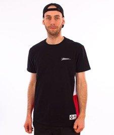 Patriotic-Tag Slices T-shirt Czarny/Czerwony/Biały