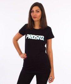 Prosto-Ssicla T-shirt Damski Czarny