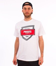 Prosto-TS Badge T-Shirt White