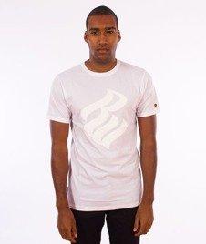 Rocawear-Rocawear Logo T-Shirt Biały/Biały