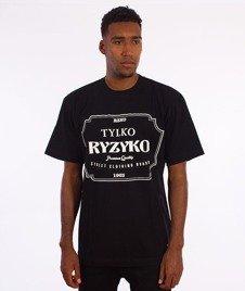 Ryzyko-Razor T-shirt Czarny
