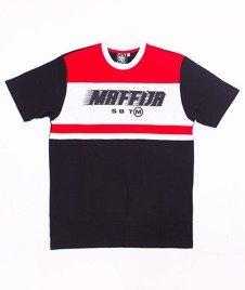SB Maffija-Sending T-Shirt Czarny/Czerwony