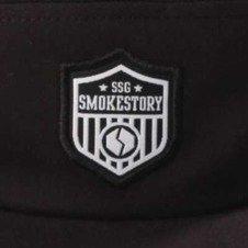 Smoke Story-5 Panel Herb Czapka z daszkiem Czarna