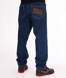 SmokeStory-Big Baggy Jeans Medium Blue