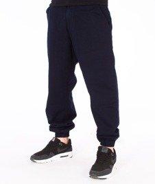 SmokeStory-Classic Jogger Regular Spodnie Granatowe