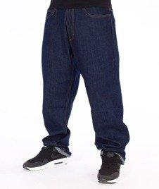 SmokeStory-Classic Regular Jeans Spodnie Dark Blue