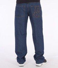 SmokeStory-Outline Regular Jeans Medium Blue