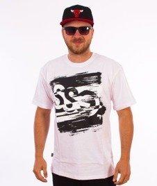SmokeStory-Paint Tag T-Shirt Biały