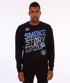 SmokeStory-SMG Slant Bluza Crewneck