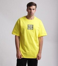 SmokeStory-SMG Three Lines T-Shirt Żółty