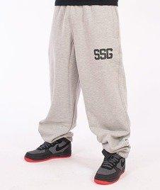 SmokeStory-SSG Baggy Spodnie Dresowe Melanż